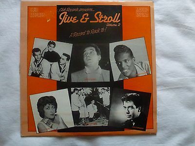 Lp Various 'jive And Stroll Vol 2' Hot Sides From 1950S Usa Rock N Roll Doo Wop