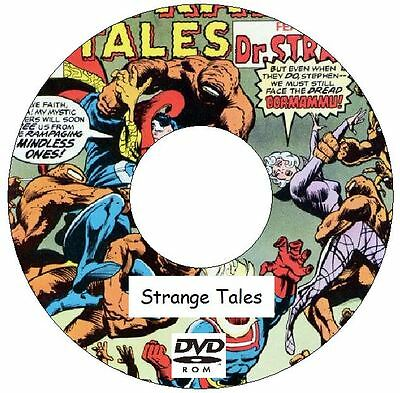 Strange Tales Comic Collection 224 Issues on DVD 1951 - 2010 silver age and more