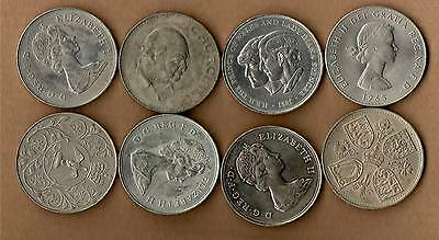 Eight Crown Coins - Please Look