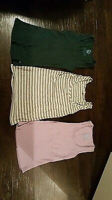 BUN maternity nursing tank tops lot of 3