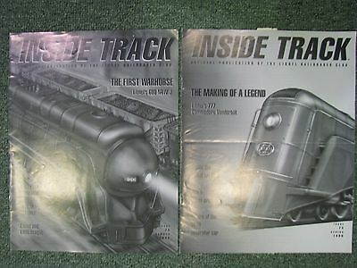 Lionel,  Inside Track Magazine  Spring and Summer Issues -1996