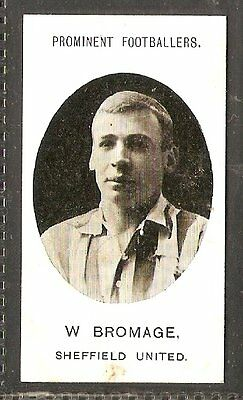 Taddy & co- Prominent Footballers (no footnote) (1907) W.Bromage- Sheffield Utd