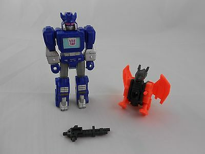 Transformers G1 Soundwave with Wingthing Action Master 1990 Takara Complete