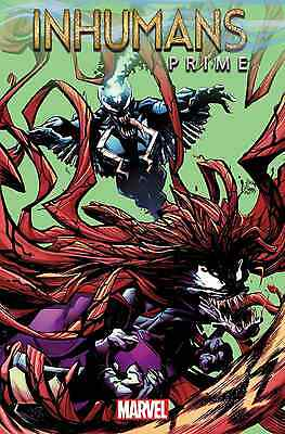 Inhumans Prime 1 Ryan Stegman Venomized Venom Variant Nm