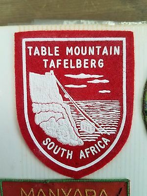 Patch / Badge - Table Mountain Tafelberg South Africa