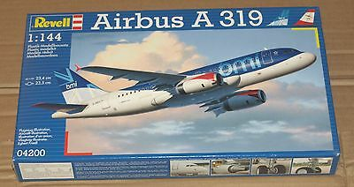 Revell Airbus A319 BMI/Austrian Airlines 1/144 Scale Model Kit Unopened