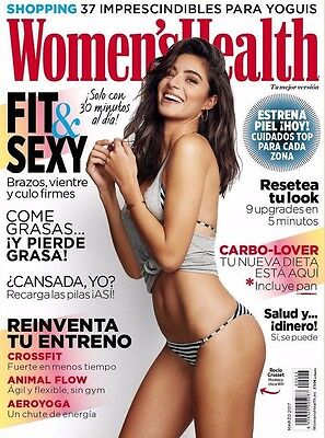 Rocio Crusset Women's Health Spain March 2017 Cover