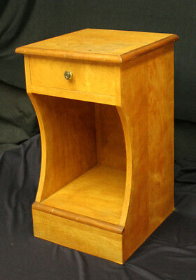 Beautiful Small Mid Century Nightstand End Lamp Storage Side Table