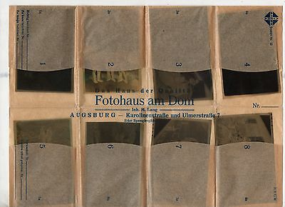 Original Ww2 German Photograph Negatives X8 In Packet-Troops-Boat