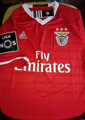 Benfica home shirt Small