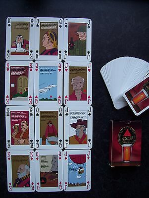 Bass Ales Deck Of Playing Cards With Non-Standard Court Cards.(Unused=Mint)