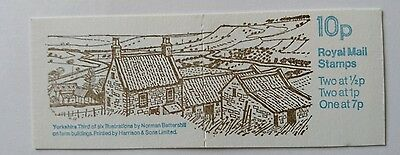 10p Stamp Booklet FA6 1978