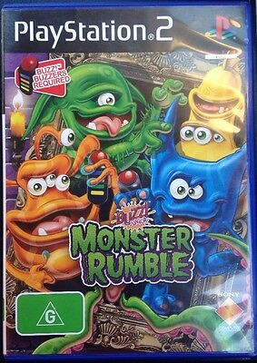 PS2 Buzz! Junior:                Monster Rumble.           PlayStation 2 Game.
