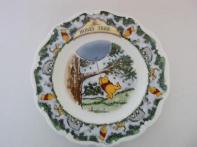 royal doulton  bone china plate WINNIE THE POOH COLLECTION (THE HONEY TREE)