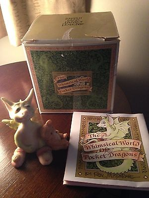 Lilliput Lane Land Of Legend, Whimsical World Of Pocket Dragons - Drowsy Dragon