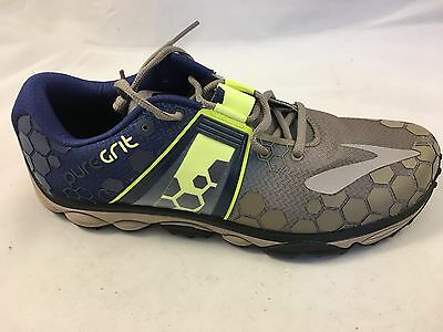 NEW Men's Brooks Pure Grit 4 Running Shoe ~ Driftwood ~ Sizes: 10.5, 11.5, or 12