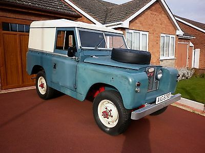 1966 Ex Wd S.w.b. 2.25L Series 2A Land Rover