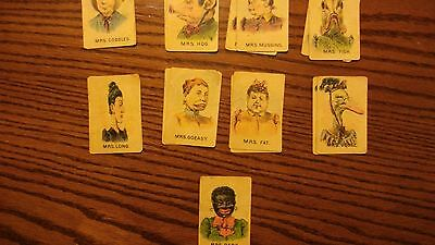 vintage game cards Old Maids???