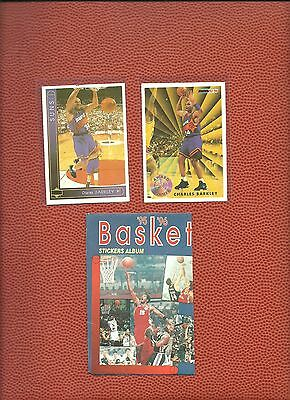 EXTREMELY RARE 1995-6 Greek Double Sided Cards w/ Sir. Charles Barkley +empty pk