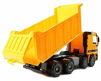 1970 Now 15 Oversized Friction Dump Truck Construction Vehicle Toy for Kids