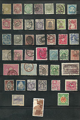 Stamp Collection - Japan - Early Issues