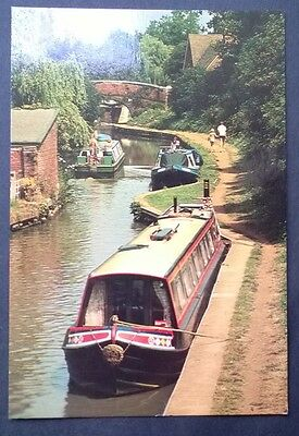 Cropredy - Oxford Canal. Real Photographic Postcard. Locally Published 1984.