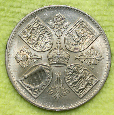 1960 CROWN - Queen Elizabeth New York Exhibitition Five Shillings
