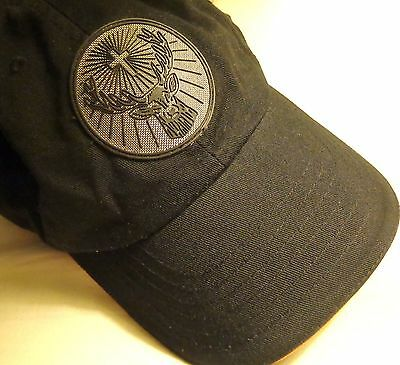 Jagermeister - Baseball Style Golf Hat - Black...Shiny Deer Head on Front...NEW