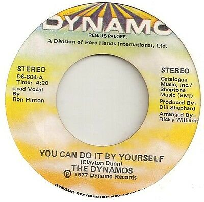 70s/MODERN SOUL - DYNAMOS - You can do it by yourself - 1977 US DYNAMO EX-