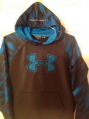 Boys Under Armour Storm Hooded Sweat Shirt Size youth XL
