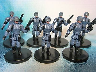 Star Wars Miniatures Lot  Galactic Alliance Trooper !!  s97
