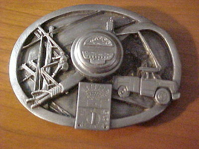 1990 Electric Power Company Workers Belt Buckle