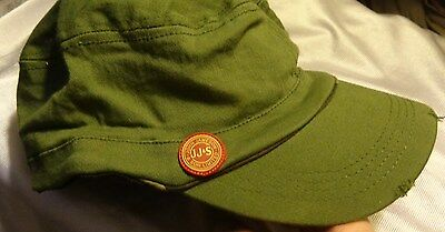 Jameson Irish Whiskey....Military Style Hat....Worn Look....NEW..Style 2