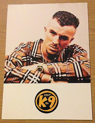 TERRY COLDWELL (East 17) Official Fan Club Card Limited Edition (K9) RARE