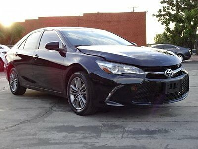 2016 Toyota Camry SE Sedan 4-Door 2016 Toyota Camry SE Damaged Salvage Only 17K Miles Gas Saver Loaded w Options!