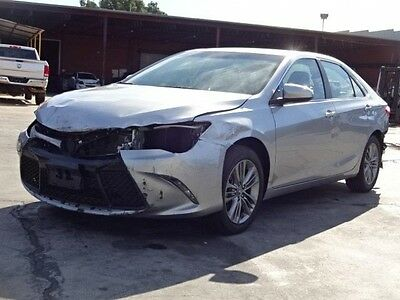 2015 Toyota Camry SE 2015 Toyota Camry SE Damaged Salvage Only 12K Miles Economical Export Welcome!!