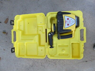 Leica Rugby 100 Self Leveling Rotating Laser Level W/receiver Look