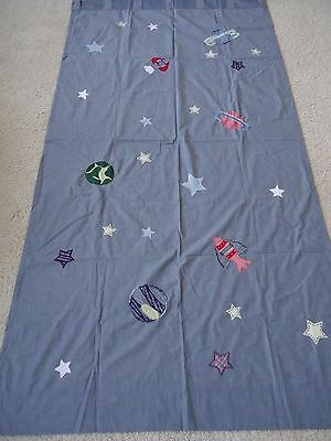 Pottery Barn Kids Window Panel Outer Space