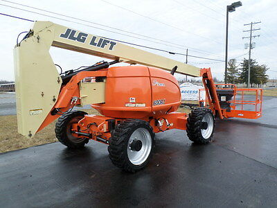 2008 Jlg 600Aj 60' Boom Lift Manlift Man Lift Aerial Articulated Boomlift Jib