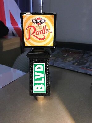 Boulevard Brewing Company Tap  Handle Used  Rogue Stone Budweiser