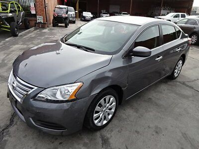 2015 Nissan Sentra SV 2015 Nissan Sentra SV Wrecked Fixer Perfect Commuter!! Priced To Sell!! L@@K!!
