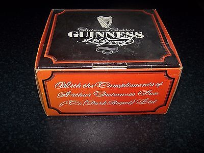 """Vintage """" GUINESS GLASSES """" SET OF TWO"""