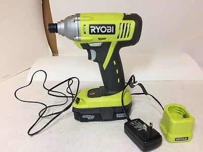 Ryobi 18 volt P234G Impact Driver with batterie and charger, FREE SHIP