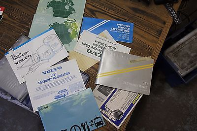 Volvo 240 Series Owners Manual For Model Year 1987