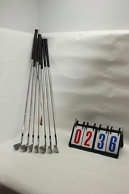 Lot of 7 TFD Golf Club Set Some Scuffs and Scratches