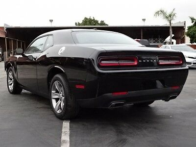 2016 Dodge Challenger SXT 2016 Dodge Challenger SXT Coupe Damaged Salvage Only 9K Miles Perfect Project!!