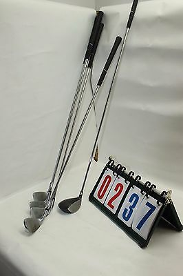 Lot of 5 Golf Mate SLE 510 Golf Club Set Some Scuffs and Scratches