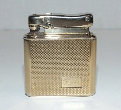 Vintage COLIBRI Monogas Gold Plated Pocket Cigarette Lighter