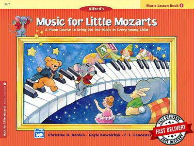 Music For Little Mozarts - Piano Lesson Book 1 - Children's Book -New