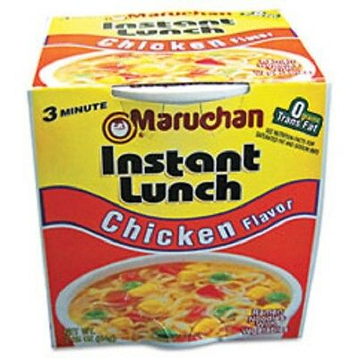 Maruchan Instant Lunch Chicken Flavor 2.25 oz. Noodle Soup 12 Pack